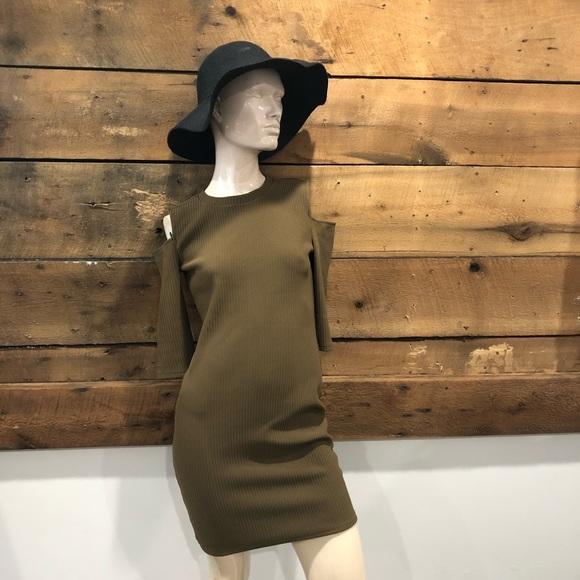 Forever21 Cold Shoulder Dress